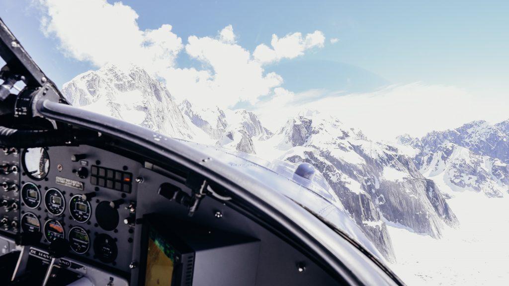 denali national park flight